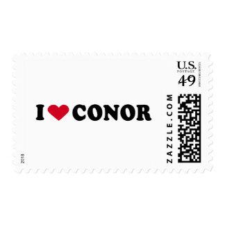 I LOVE CONOR POSTAGE STAMP