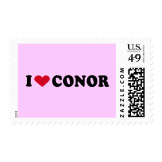 I LOVE CONOR POSTAGE