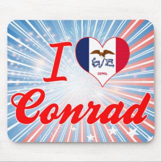 I Love Conrad, Iowa Mousepads
