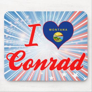 I Love Conrad, Montana Mousepad