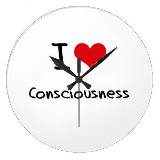 I love Consciousness Wallclock