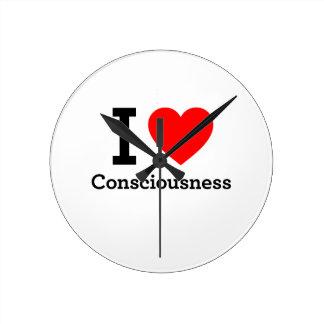 I Love Consciousness Clock