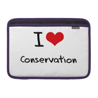 I love Conservation MacBook Sleeves