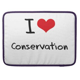 I love Conservation MacBook Pro Sleeve