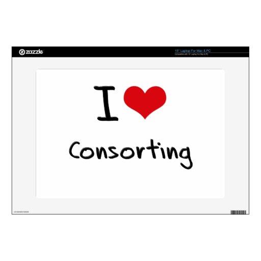 I love Consorting Laptop Skin