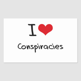 I love Conspiracies Sticker