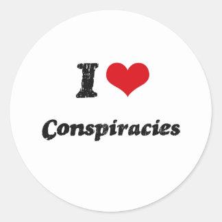 I love Conspiracies Stickers