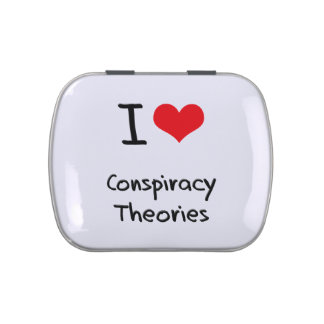 I love Conspiracy Theories Jelly Belly Tins