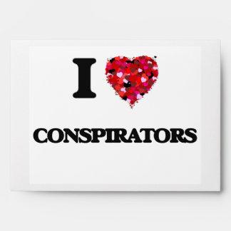I love Conspirators Envelopes