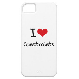I love Constraints iPhone 5 Cover