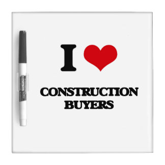 I love Construction Buyers Dry-Erase Whiteboard