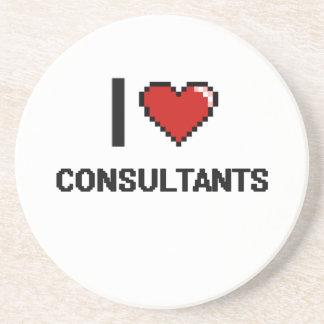 I love Consultants Beverage Coaster