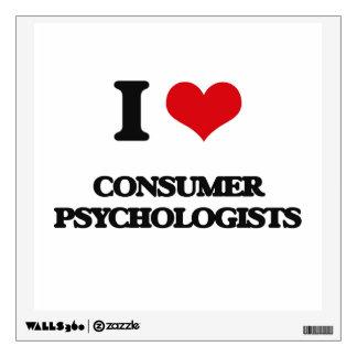 I love Consumer Psychologists Wall Sticker