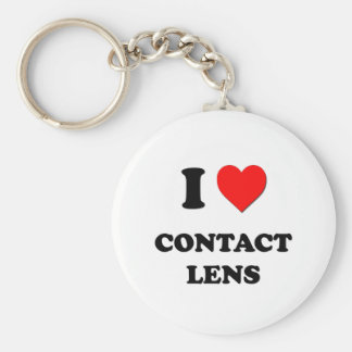 I love Contact Lens Keychain