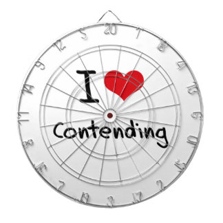 I love Contending Dartboard