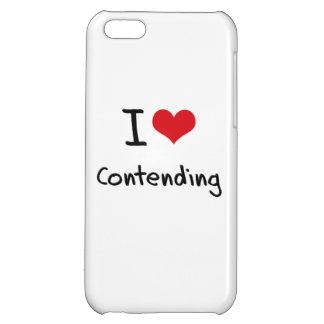 I love Contending Case For iPhone 5C