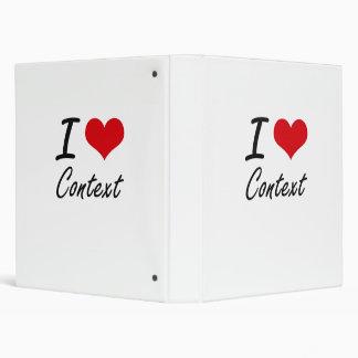 I love Context Artistic Design 3 Ring Binders