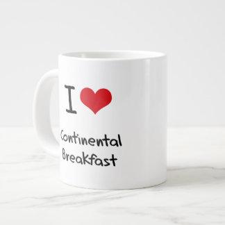 I love Continental Breakfast 20 Oz Large Ceramic Coffee Mug