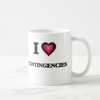 I love Contingencies Coffee Mug