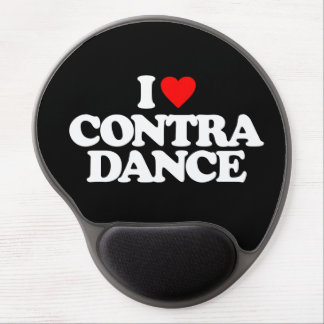 I LOVE CONTRA DANCE GEL MOUSE PAD