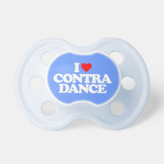 I LOVE CONTRA DANCE PACIFIER