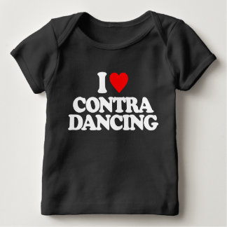 I LOVE CONTRA DANCING BABY T-Shirt