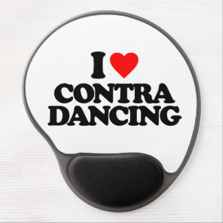 I LOVE CONTRA DANCING GEL MOUSE PAD