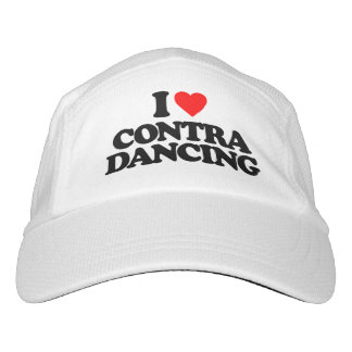 I LOVE CONTRA DANCING HEADSWEATS HAT