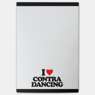 I LOVE CONTRA DANCING POST-IT® NOTES
