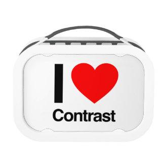 i love contrast yubo lunch box