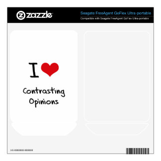 I love Contrasting Opinions FreeAgent GoFlex Decals