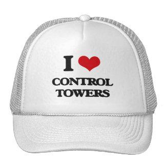 I love Control Towers Trucker Hats
