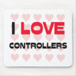 I LOVE CONTROLLERS MOUSE MATS