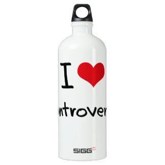 I love Controversy SIGG Traveler 1.0L Water Bottle