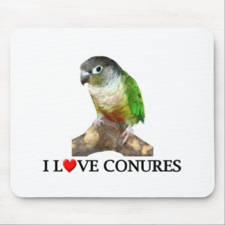 I love conures mouse pad