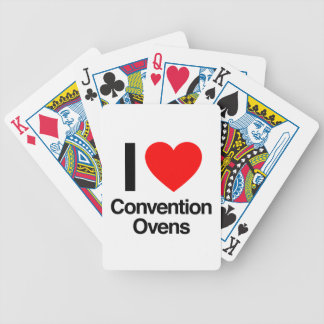 i love convention ovens deck of cards