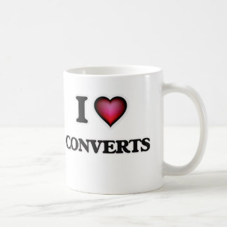 I love Converts Coffee Mug