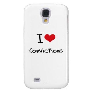 I love Convictions Samsung Galaxy S4 Case