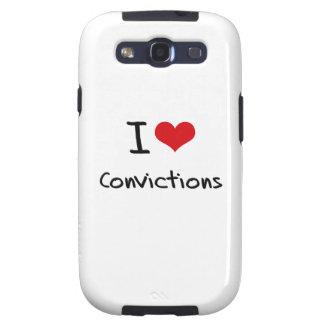 I love Convictions Samsung Galaxy S3 Case