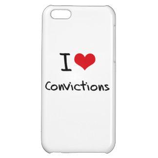 I love Convictions iPhone 5C Cases