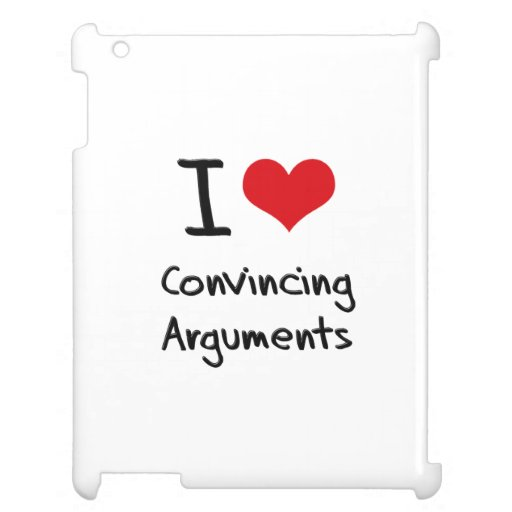 I love Convincing Arguments Case For The iPad