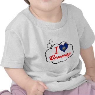 I Love Conway New Hampshire Tee Shirt