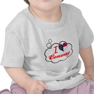 I Love Conway North Carolina Tshirts