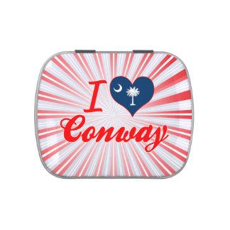 I Love Conway, South Carolina Candy Tins