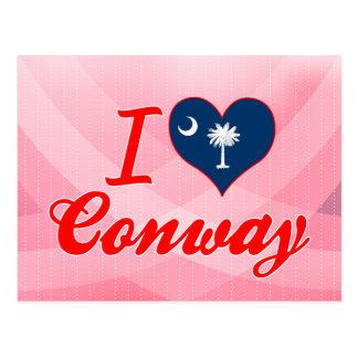 I Love Conway, South Carolina Postcard