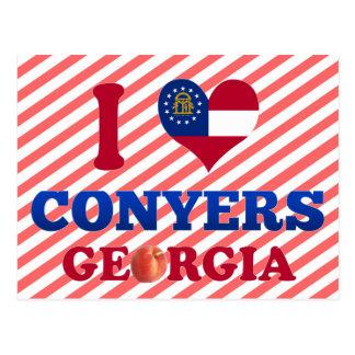 I Love Conyers, Georgia Postcard