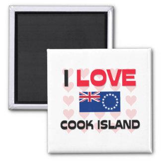 I Love Cook Island Magnet