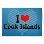 I Love Cook Islands Card
