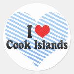 I Love Cook Islands Sticker