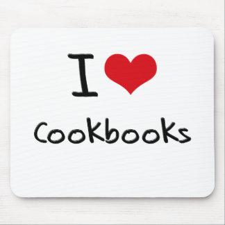 I love Cookbooks Mousepad